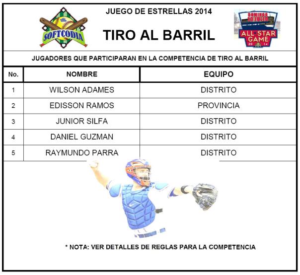 TIRO AL BARRIL