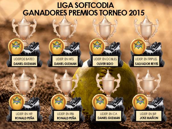 ganadores torneo 2015-1